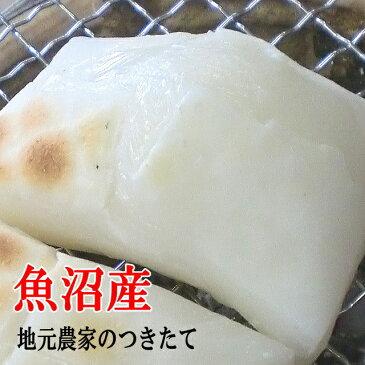 餅 おいしいお餅 つきたて もち 新潟 魚沼産 白もち 4kg(500gx8個)