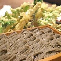 山菜セット天ぷらそばとってもおいしい蕎麦
