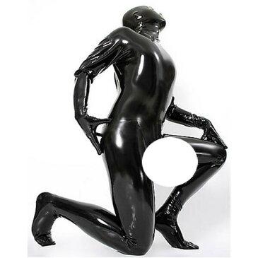 latexa-3108-男性用☆ラバートータルキャットスーツ【送料無料】【ラバー】【ラテックス】【ボンデージ】メンズ