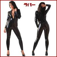 【skinfit】wwr1056-男女兼用☆ラバーキャットスーツ