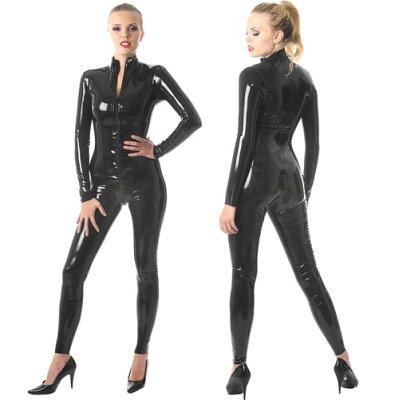 ☆ボンデージの定番!catsuit・ラテックス☆【skinfit】ww-r1696-女性用細身のラバーキャットス...
