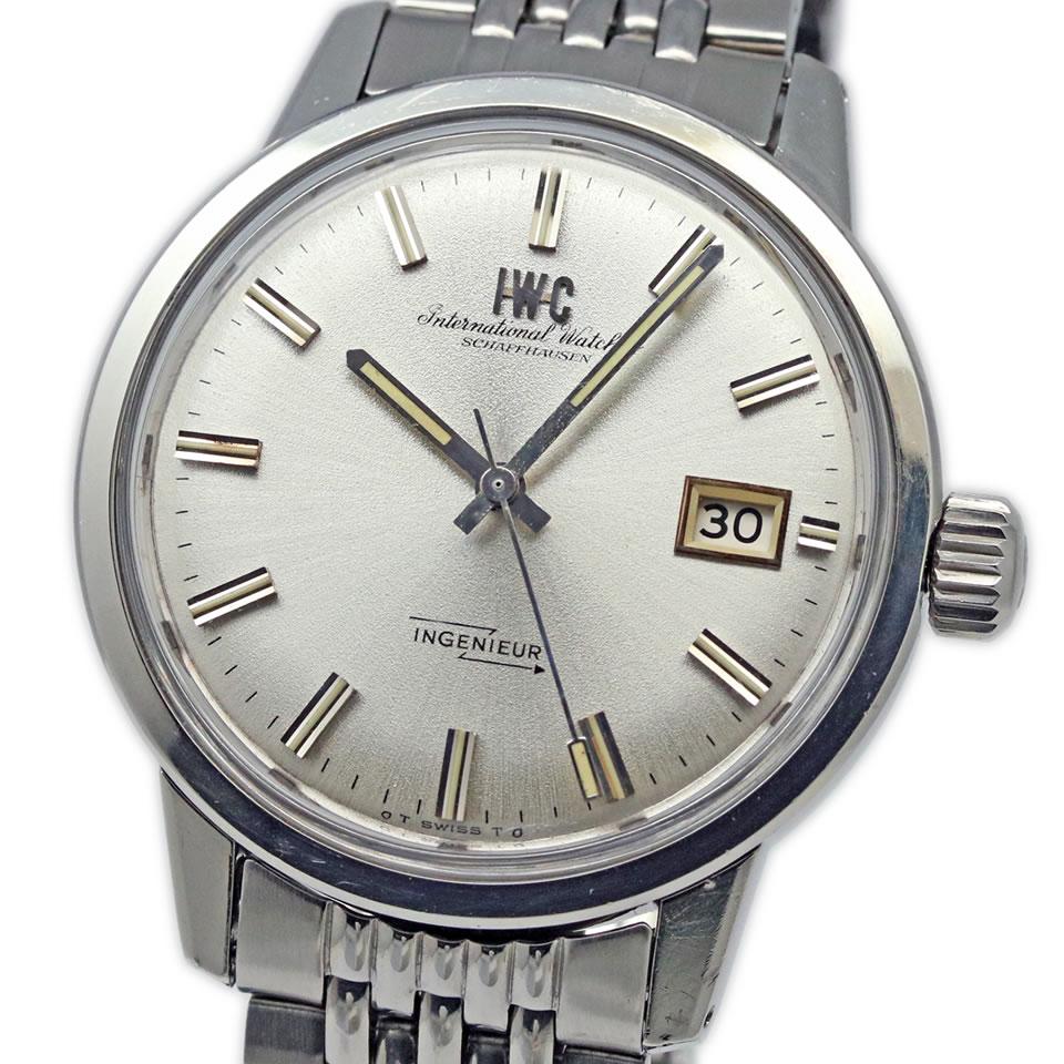 腕時計, メンズ腕時計 IWC INGENIEUR Ref.866AD Cal.8541B Gay Freres Bracelet ANTIQUE IWC Ref.866AD Cal.8541B PAWN SHOP