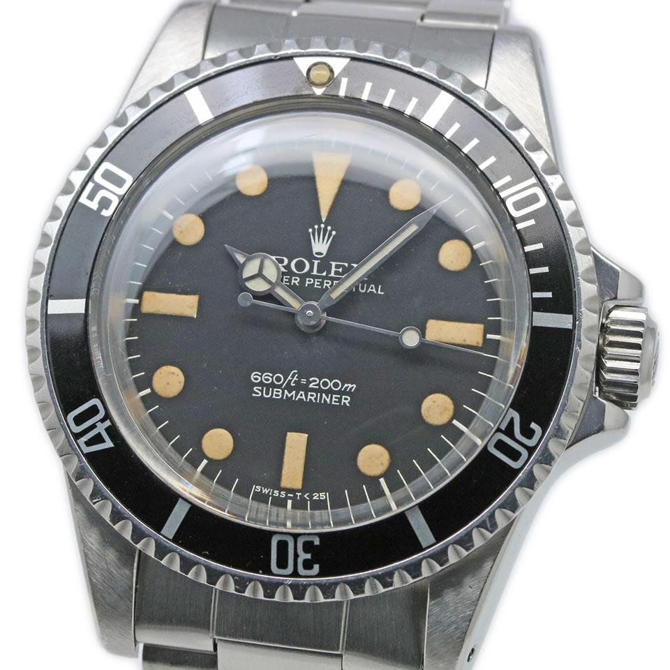 腕時計, メンズ腕時計 ROLEX SUBMARINER78 TYPE-I DIAL Ref.5513 Cal.1520 VINTAGE ANTIQUE Ref.5513 Cal.1520 1978 PAWN SHOP