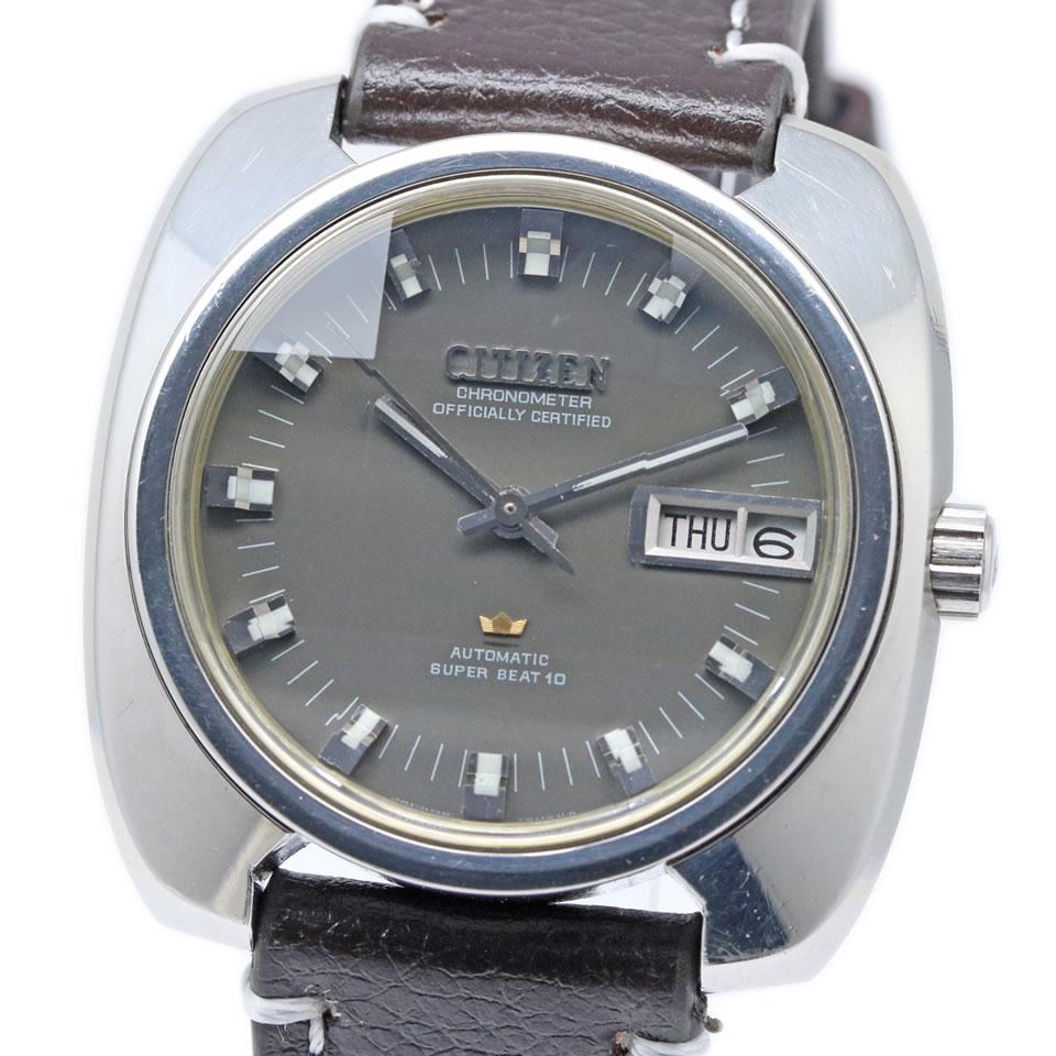 腕時計, メンズ腕時計 CITIZEN Leopard Highness CHRONOMETER Ref.4-720831 Y ANTIQUE 10 4-720831 Y PAWN SHOP