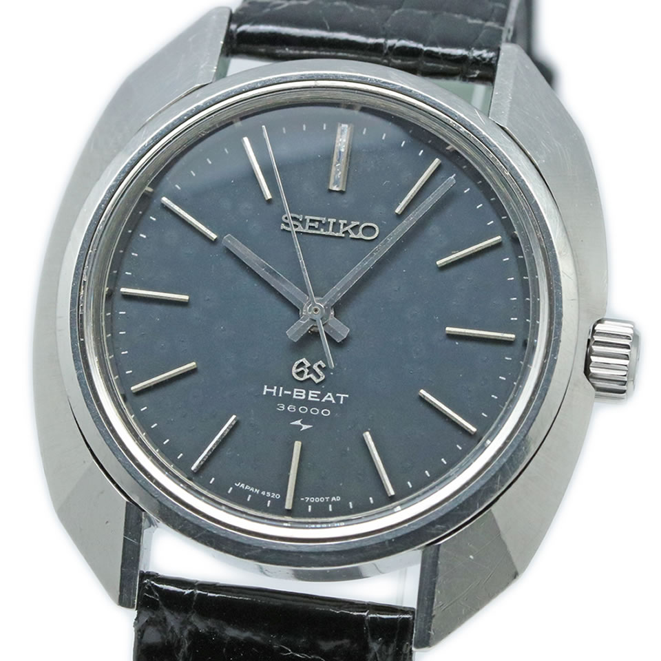腕時計, メンズ腕時計 Grand Seiko 4520-7000 HI-BEAT 36000 ANTIQUE VINTAGE 45GS 4520-7000 19693 PAWN SHOP