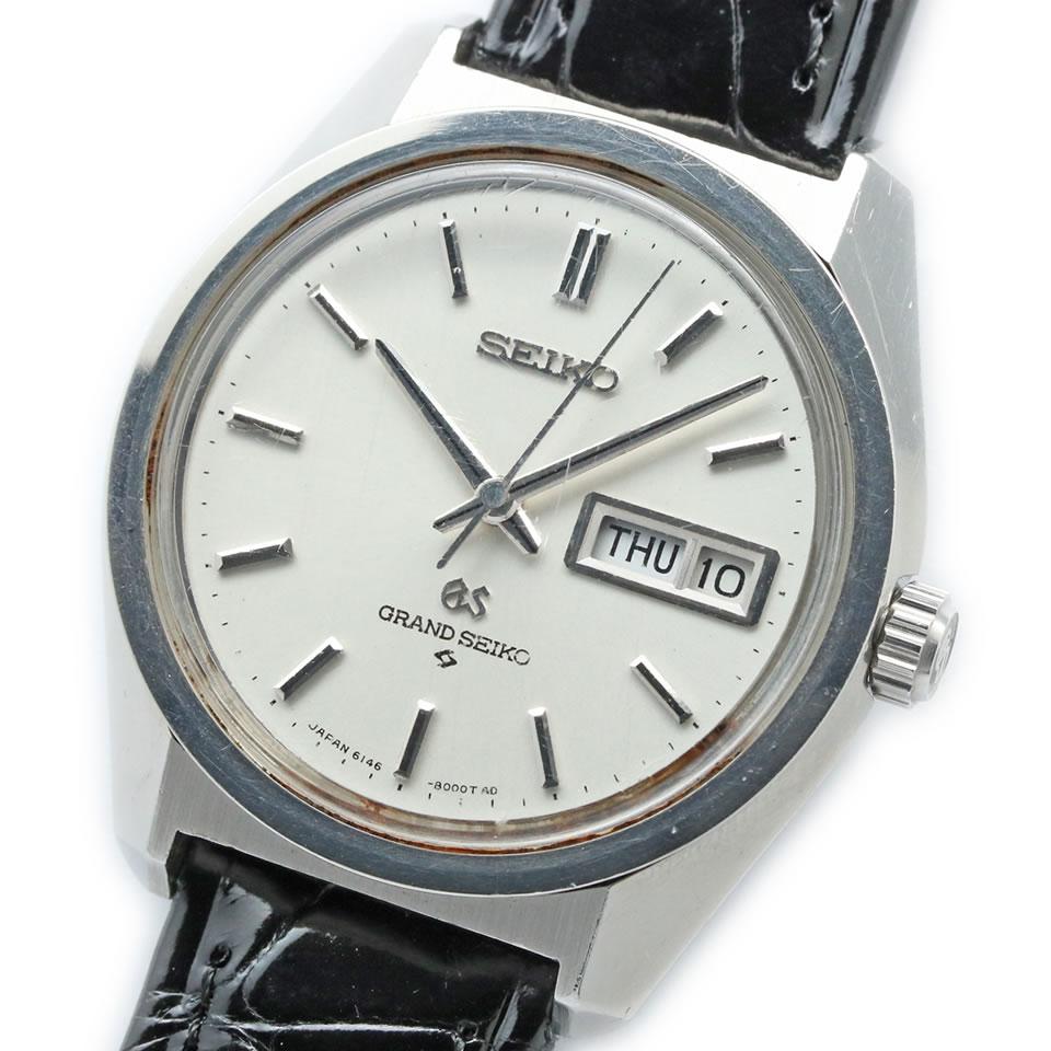 腕時計, メンズ腕時計 Vintage Grand Seiko Hi-Beat 6146-8000 Cal.6146A 61 GS GS PAWN SHOP