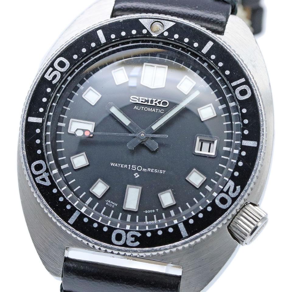 腕時計, メンズ腕時計 1968 vintage Seiko diver Ref.6105-8000 44.5mm ANTIQUE VINTAGE 150m2nd Ref.6105-8000 19687(43)