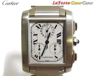 Cartier Cartier W51001Q3 Francaise クロノリフレックス LM beauty products fs3gm