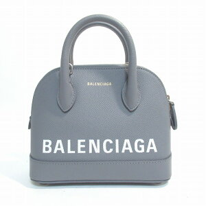 BALENCIAGA Balenciaga Balenciaga Ville Top Handle Bag XXS 2way Hand Shoulder Gray [Free Shipping] [Unused Items]