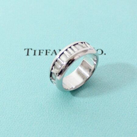 TIFFANY&Co.ティファニーK18WGアトラスリング指輪9号ホワイトゴールド【送料無料】