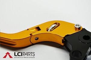 可倒式無段階調整ブレーキクラッチレバーセット(GD)GSX1400GSX1250650