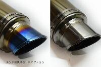 NINJA1000ニンジャ10002010-2013LCIショートフルチタンスリップオンマフラー