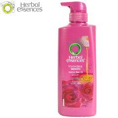 H368 P&G ハーバルエッセンス なめらかスムース シャンプー(本体)(465ml)/Herbal Essences(ヘアケア ツバキオイルとピンクローズ配合)【RCP】【適1504】
