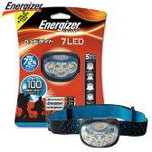 T309 シック・ジャパン エナジャイザー Energizer ヘッドライト7LED/HDL33AEJ 驚異的に明るい最大100ルーメン 点灯最大27時間 防水【適1705】【RCP】