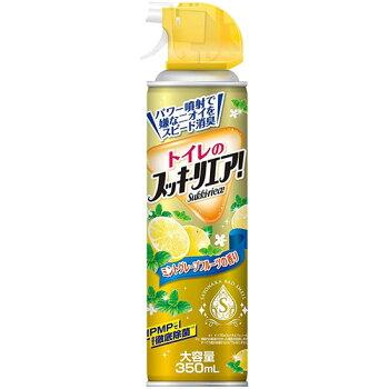 LC21アース製薬トイレのスッキーリエア消臭芳香スプレーミントグレープフルーツの香り大容量350ml