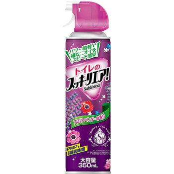 LC22アース製薬トイレのスッキーリエア消臭芳香スプレーアロマラベンダーの香り大容量350ml