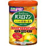 【超目玉特価】LC39 アース製薬 薬用入浴剤 バスロマン にごり浴 柑橘の香り 600g