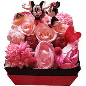 बुजुर्ग दिवस के लिए सम्मान वर्तमान फूल डिज्नी फूल उपहार बॉक्स खोलें आश्चर्य मिकी मिन्नी बॉक्स संरक्षित फूल सामान्य मिकी मिन्नी