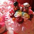 トイスートリー ポテトヘッド 花 プリザーブドフラワー レインボーローズ入り ケース付き ◆誕生日プレゼント・記念日の贈り物におすすめのフラワーギフト