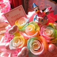 誕生日プレゼントディズニーフラワーギフト