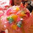 結婚祝い ディズニー フラワーギフト レインボーロガーベラ プリザーブドフラワー ミッキー ミニー ウェディングA ケース付き