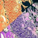 【クリックポストOK】バティック マルチカバー 花柄/ブラックG 2色あります Batik BALI