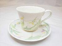EXCEEDBONbyKEITOカップ&ソーサーチューリップ柄陶器食器ティーカップAT-12