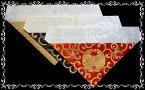 三角打敷織込 抱牡丹 30代(京サイズ) 浄土真宗 大谷派(東) 【3色から選べます】[仏具]