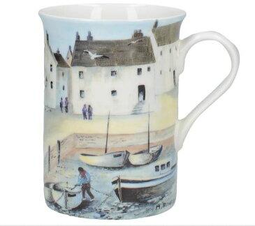 輸入雑貨 マグカップ コーニッシュハーバー Cornish Harbour クリエイティブトップス Creativetops ボーンチャイナ 英国 漁村 MGB3635