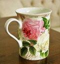 輸入雑貨 マグカップ ローズガーデン Creativetops クリエイティブトップス 英国 ボーンチャイナ ルドゥーテローズ バラ イギリス 5140426