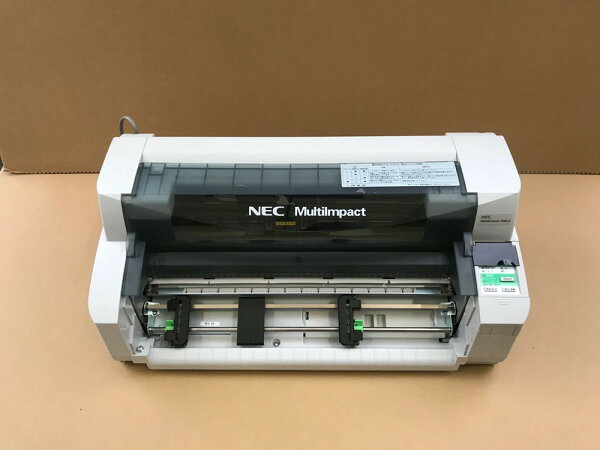 込み 使用時間少 清掃整備済 NECMultiImpact700LA本体 NEC700LAドットプリンターPR-D700LA 中