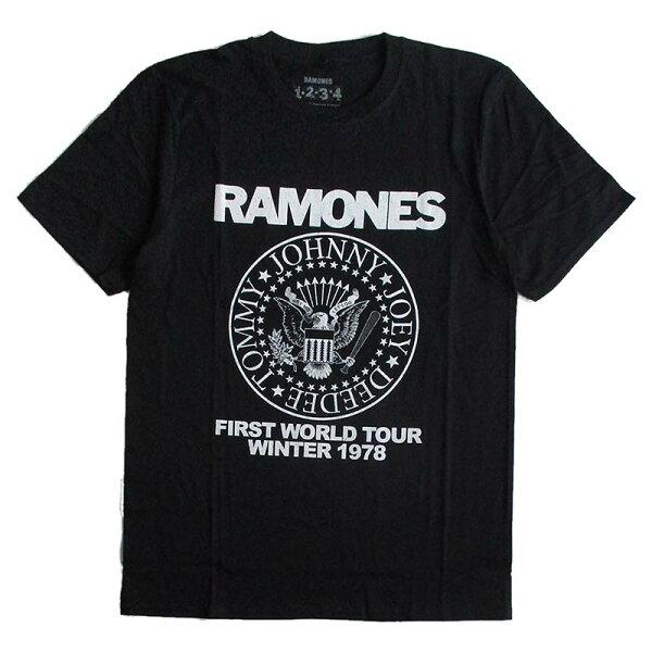 ラモーンズRAMONESメンズ半袖TシャツロックTシャツバンドTシャツパンクPUNK正規ライセンス品