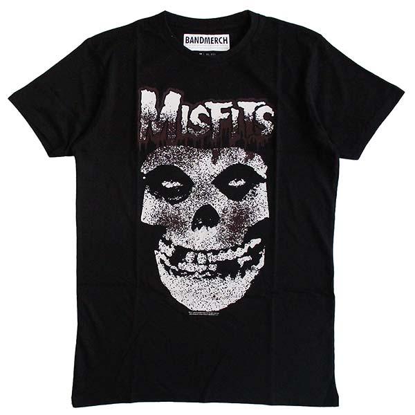 MISFITSミスフィッツメンズ半袖TシャツロックTシャツバンドTシャツパンクPUNK正規ライセンス品