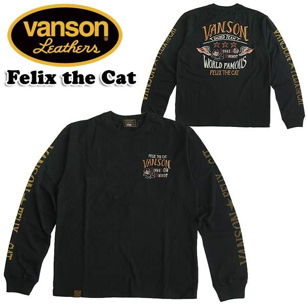 トップス, Tシャツ・カットソー VANSON TT FELIX THE CAT