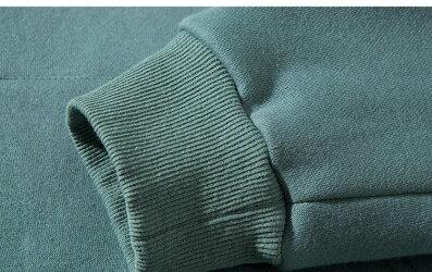 送料無料パーカープルオーバーパーカーメンズボリュームネックトップスハイネックオーバーサイズ綿ゆったり大きめビッグかっこいいおしゃれ韓国黒ブラックブルー