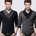 送料無料 綿100% 10タイプ シンプルロングTシャツ ポ...
