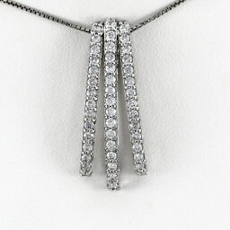 プラチナ ネックレス ダイヤモンド ペンダント レディース ストレート シンプル pt900