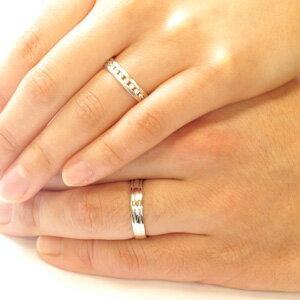 【10%OFF】ペアリング 刻印 ゴールド ダイヤモンド 結婚指輪 マリッジリング スイート 10 0.2カラット 地金 k18 18k 18金 18金