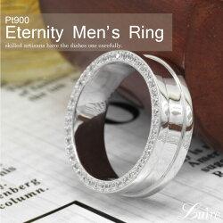 リングメンズ幅広側面ダイヤモンドエタニティリングプラチナ誕生日記念日Pt900結婚指輪マリッジブライダルリングプレゼントギフト結婚記念自分ご褒美0824カード分割