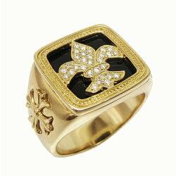K18ゴールドメンズリングダイヤモンドリングk18イエローゴールドプレゼントマリッジリング誕生日【送料無料】【RCP】【_メッセ入力】【_名入れ】【_包装】【マラソン201408_送料込み】05P02Aug14