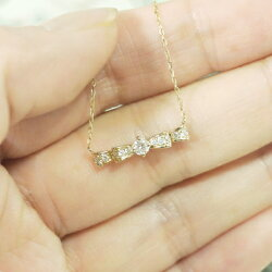 プチネックレスダイヤモンド0.2ctペンダント誕生日プレゼント【k18ゴールド】