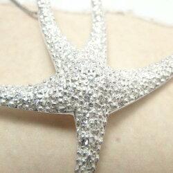 K18ゴールドダイヤモンドヒトデスターフィッシュStarfishペンダントネックレスK18WGYGPG天然ダイヤモンド誕生日【送料無料】P19Jul15