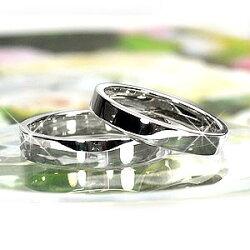 【送料無料】ペアリング/ダイヤリング/結婚指輪/天然ダイヤモンド/k18WG/ギフト/マリッジ/プレゼント