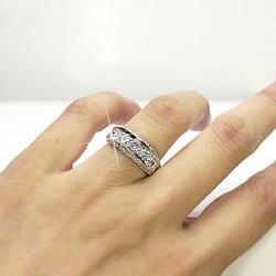 蝶バタフライダイヤリング蝶々k18ホワイトゴールド天然ダイヤモンド指輪結婚記念日誕生日/プレゼント【送料無料】【%OFF】【マラソン201211_ファッション】