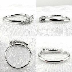 プラチナ900エタニティーダイヤモンドリング