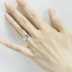 K18ゴールド【送料無料】バンドタイプクロスリング天然ダイヤモンド誕生日シンプル自分ご褒美【RCP】【_メッセ入力】【_名入れ】【_包装】P25Jan15