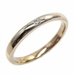 K10ゴールドダイヤリング一粒石重ね付けダイヤモンドリング結婚指輪ギフト誕生日プレゼント彼女ストレート自分ご褒美ゴールド05P09Jan16