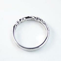 【送料無料】ダイヤリング/結婚指輪/k18WG/天然ダイヤモンド/結婚記念/ギフト/鑑別書誕生日/プレゼント/彼女/指輪/ゴールド