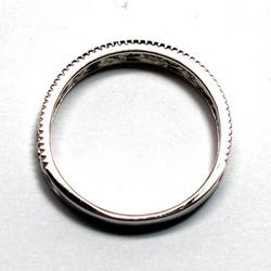 【送料無料】メンズリング/自分ご褒美/誕生日/結婚指輪/婚約指輪/k18ホワイトゴールド/ギフト/結婚記念/プレゼント/指輪/マリッジリング