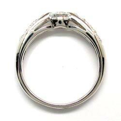 【送料無料】ダイヤリング0.30ct/エンゲージリングk18WG/天然ダイヤモンド/ギフト/婚約指輪/誕生日/プレゼント/彼女/指輪/ゴールド/自分ご褒美